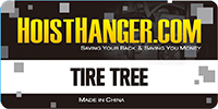 Hoist Hanger Tire Tree Instalation Instructions