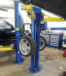 Tire Tree wheel hanging lift accessory