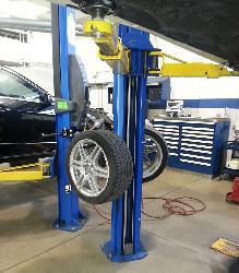Tire Tree wheel hanging lift accessory